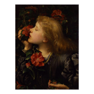Dame Alice Ellen Terry Choosing by George Watts Poster