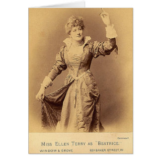 Dame Ellen Terry Greeting Card