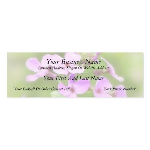 Dame's Rocket - Hesperis matronalis Business Cards