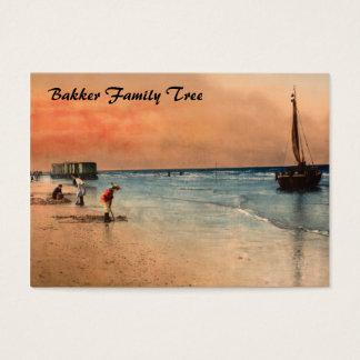 Damesbaden, Scheveningen, Holland Business Card