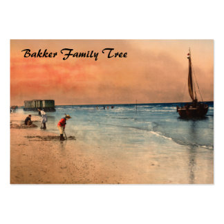 Damesbaden, Scheveningen, Holland Business Card Template