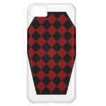 Damier Ebony (Red) iPhone Case iPhone 5C Covers