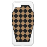 Damier Ebony (Tan) iPhone Case iPhone 5C Covers