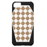 Damier Ivory (Tan) iPhone Case Case For iPhone 5C
