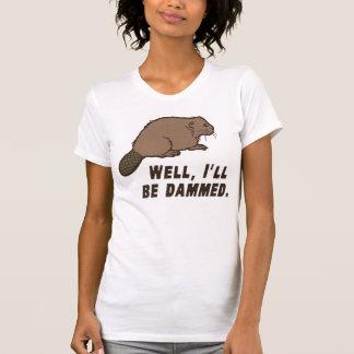 Dammed Beaver Tee Shirt
