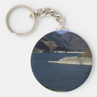 Dammed Snake River, Idaho Key Ring