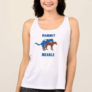 Dammit Mearle Women's Athletic tank