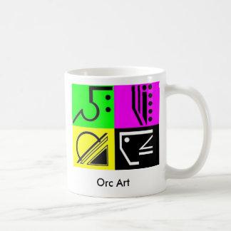 Dammy, Orc Art Basic White Mug