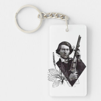 Damnation and Redemption Key Ring