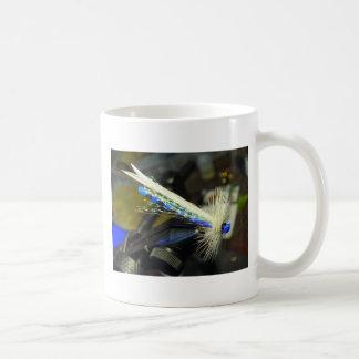Damsel Fishing Fly Basic White Mug