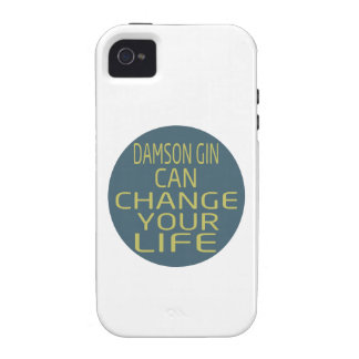 Damson Gin Can Change Your Life iPhone 4 Cover