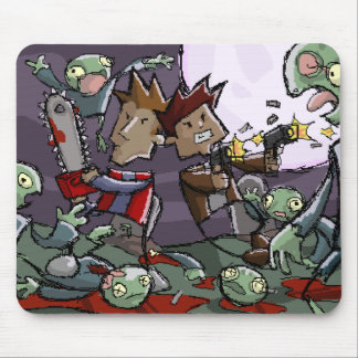 Dan and Ben vs. Some Zombies Mousepad