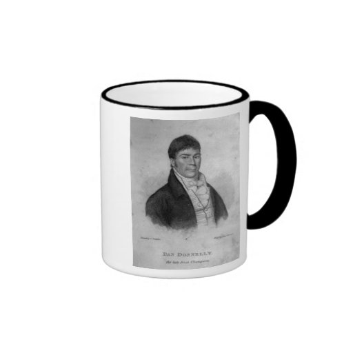 Dan Donnelly, engraved by Percy Roberts Coffee Mug