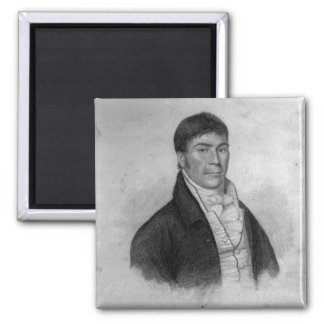 Dan Donnelly, engraved by Percy Roberts Square Magnet