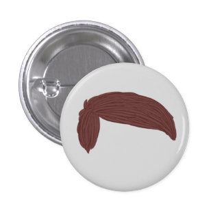 DAN HOWELL HAIR BUTTON 3 CM ROUND BADGE