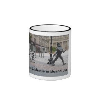 Dan & Minnie in Beanotown mug