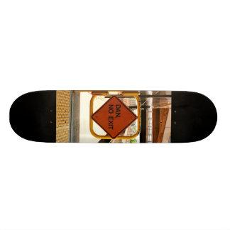 Dan, No Exit Skateboard Decks