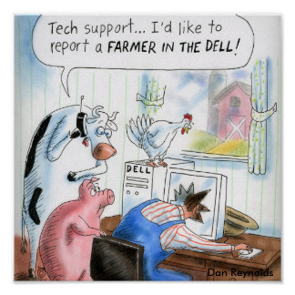Dan Reynolds | Poster | Farmer In The Dell