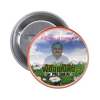 Dan Woodring for President 2012 6 Cm Round Badge