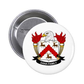 Dana Family Crest Button