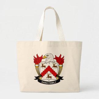 Dana Family Crest Canvas Bags