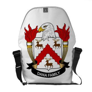 Dana Family Crest Courier Bag
