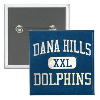 Dana Hills Dolphins Athletics Pin