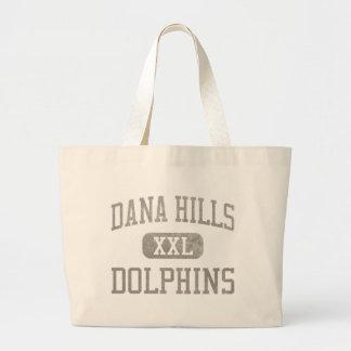Dana Hills Dolphins Athletics Canvas Bags