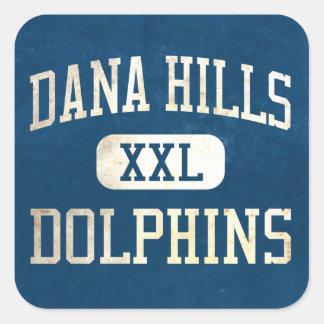 Dana Hills Dolphins Athletics Square Sticker