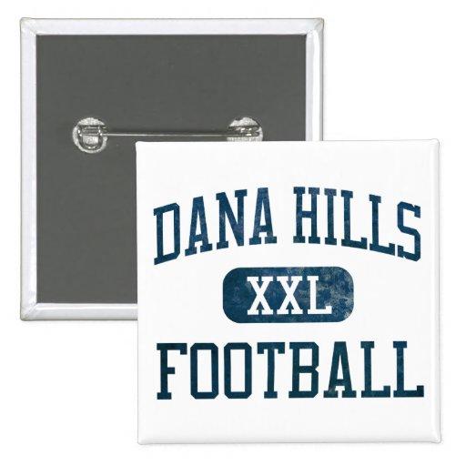 Dana Hills Dolphins Football Button