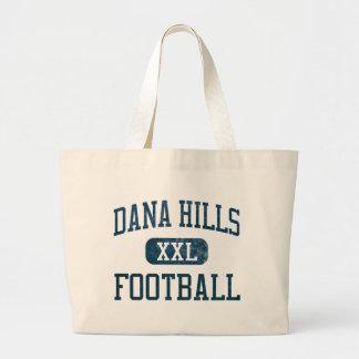 Dana Hills Dolphins Football Canvas Bags
