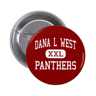 Dana L West - Panthers - High - Port Byron Pin
