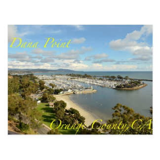 Dana Point California Postcard