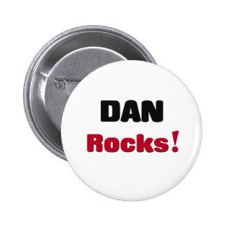 Dana Rocks Pinback Button