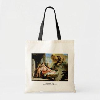 Danae And Zeus By Tiepolo Giovanni Battista Bags