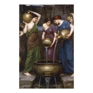 "Danaides by John William Waterhouse 5.5"" X 8.5"" Flyer"