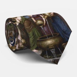 Danaides by John William Waterhouse Tie