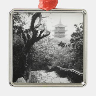 Danang Vietnam, Temple View Marble Mountain Christmas Ornament