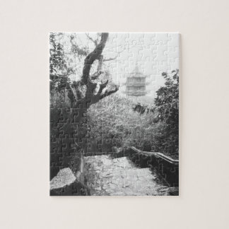 Danang Vietnam, Temple View Marble Mountain Jigsaw Puzzle