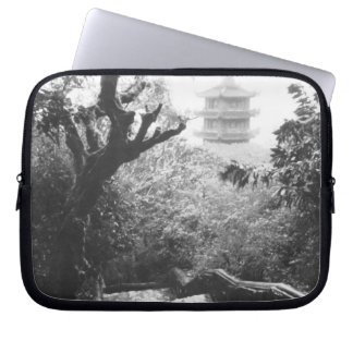 Danang Vietnam, Temple View Marble Mountain Laptop Sleeve