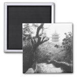 Danang Vietnam, Temple View Marble Mountain Refrigerator Magnet
