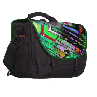 Dana's laptop bag