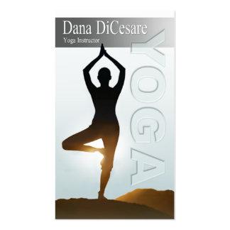 Dana's Vinyasa & Power Yoga Instructor Pack Of Standard Business Cards