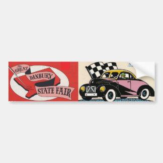 Danbury State Fair - Race Car Sticker Bumper Sticker