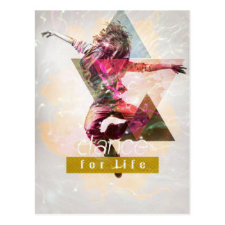 Dance4Life Postcard