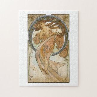Dance (1898), Alphonse Mucha Fine Art Nouveau Puzzles