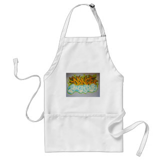 Dance above the Clouds Graffiti Aprons