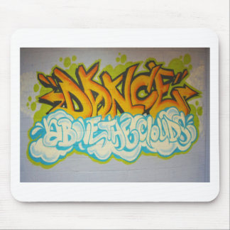 Dance above the Clouds Graffiti Mouse Pad