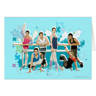 Dance Academy Cast Graphic Card
