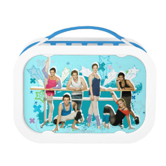Dance Academy Cast Graphic Lunch Box